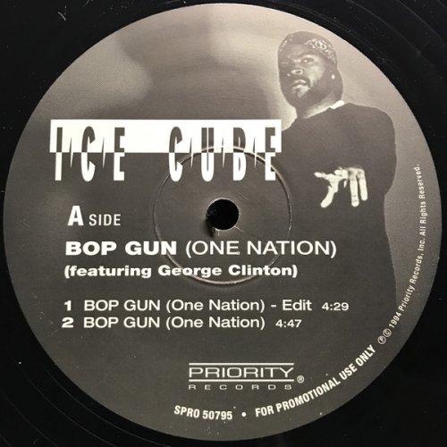 "Ice Cube - Bop Gun (One Nation), 12"", Promo"