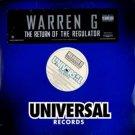 Warren G - The Return Of The Regulator, 2xLP, Promo