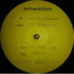 """The 45 King - The 900 Number (The Chad Jackson Remixes), 12"""", Test Pressing"""