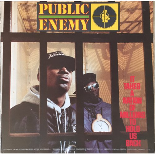 Public Enemy - It Takes A Nation Of Millions To Hold Us Back, LP, Reissue
