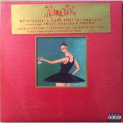 Kanye West - My Beautiful Dark Twisted Fantasy, 3xLP, Reissue