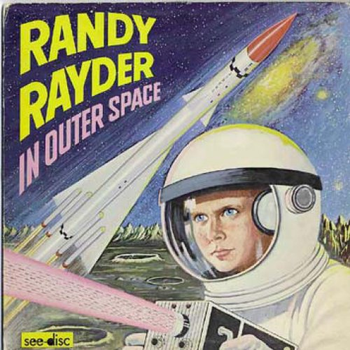 E. A. F. Clarkson - Randy Rayder In Outer Space, LP