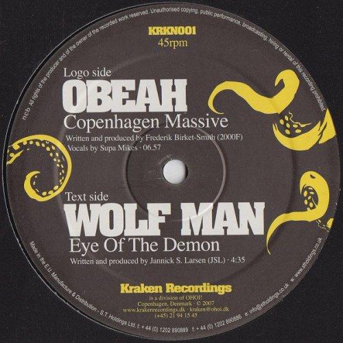 "Obeah / Wolf Man - Copenhagen Massive / Eye Of The Demon, 12"""