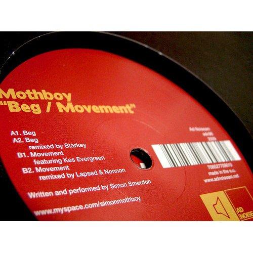 "Mothboy - Beg / Movement, 12"""