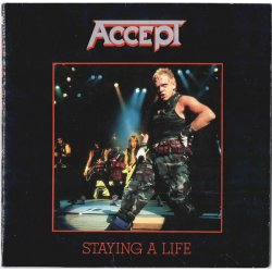 Accept - Staying A Life, 2xLP