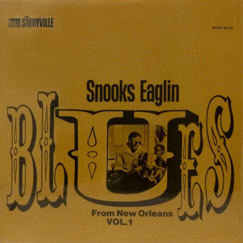 Snooks Eaglin - Blues From New Orleans Vol. 1, LP