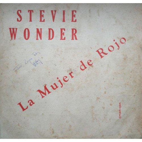 Stevie Wonder - La Mujer De Rojo, LP