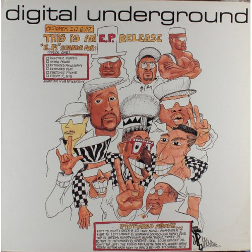 "Digital Underground - This Is An E.P. Release, 12"", EP"