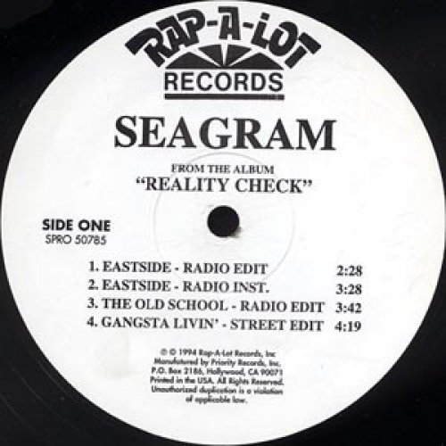 "Seagram - From The Album ""Reality Check"", 12"", Sampler"