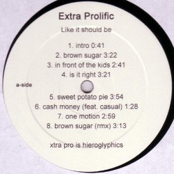 Extra Prolific - Like It Should Be, LP