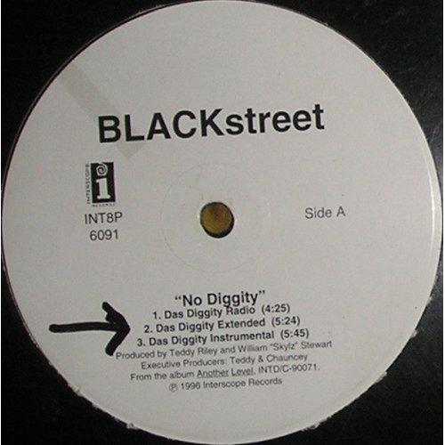 "Blackstreet - No Diggity, 12"""