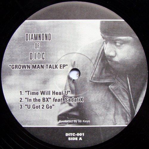 "Diamnond Of D.I.T.C - Grown Man Talk EP, 12"", EP"