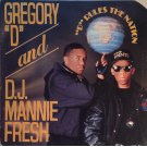 "Gregory ""D"" And D.J. Mannie Fresh - ""D"" Rules The Nation, LP"