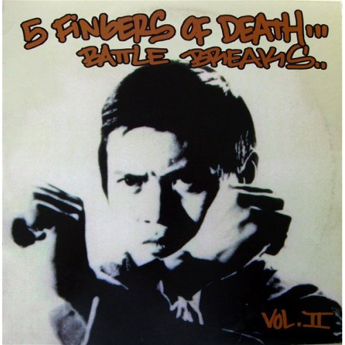 DJ Paul Nice - 5 Fingers Of Death Battle Breaks Vol. II, LP