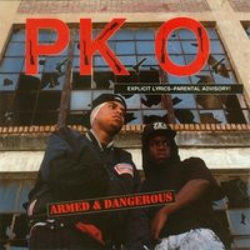 P.K.O. - Armed & Dangerous, Promo, LP