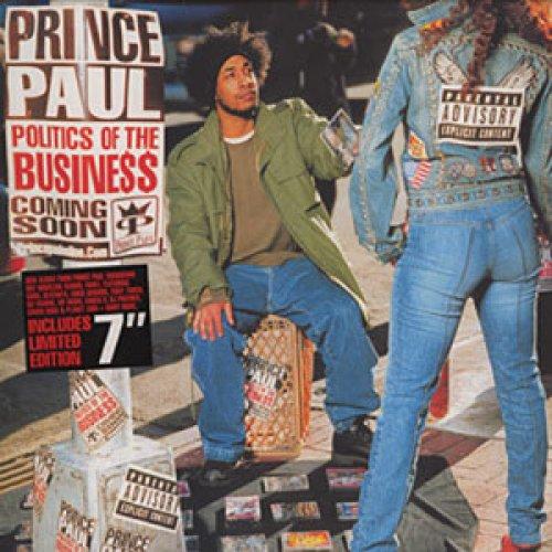 "Prince Paul - Politics Of The Business, 2xLP + 7"""