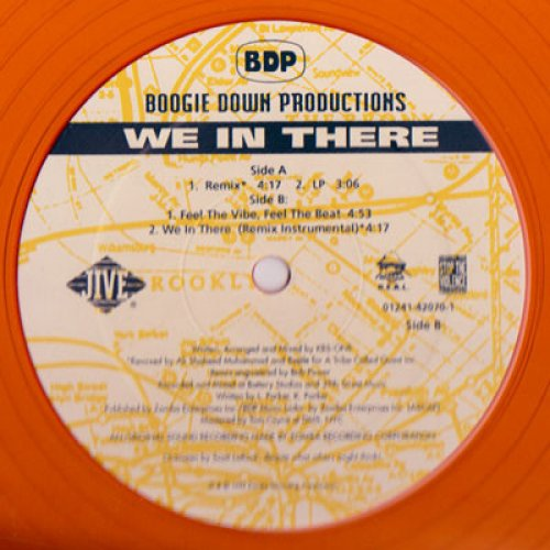 Boogie Down Productions - We In There, 12""
