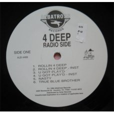 4 Deep - What's Really Goin' On, LP