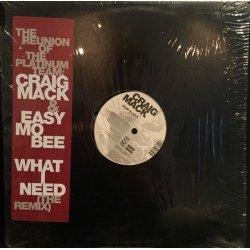 "Craig Mack - What I Need (The Remix) / Jockin' My Style, 12"""