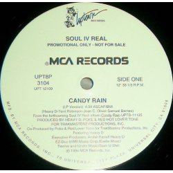 "Soul IV Real - Candy Rain, 12"", Promo"