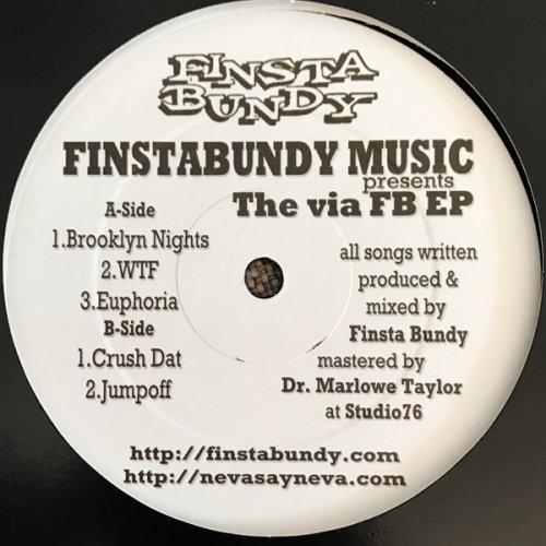 "Finsta Bundy - The Via FB EP, 12"", EP"