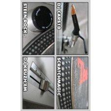 DJ Cars10, Scratchmagic, Steen Rock, DJ Kruzh'em - 4 Ways Of Rockin', Cassette