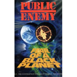 Public Enemy - Fear Of A Black Planet, Cassette