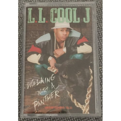 LL Cool J - Walking With A Panther, Cassette