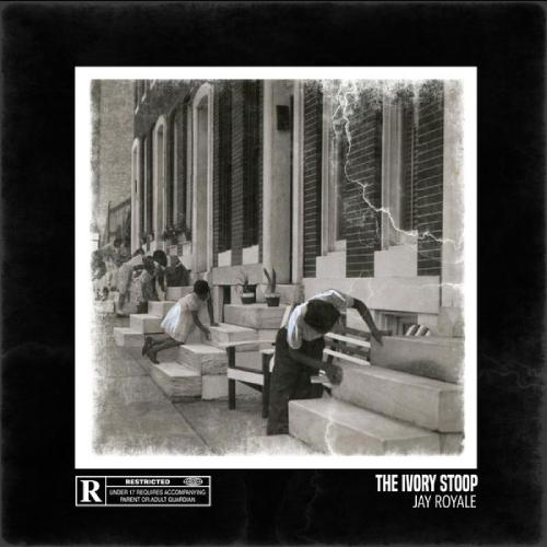 Jay Royale - Ivory Stoop, LP (Ultra clear/gray/black marbled)