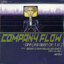 Company Flow / Cannibal Ox - Iron Galaxy / DPA (As Seen On T.V.), 2x12""