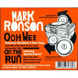 """Mark Ronson - Ooh Wee / On The Run, 12"""""""