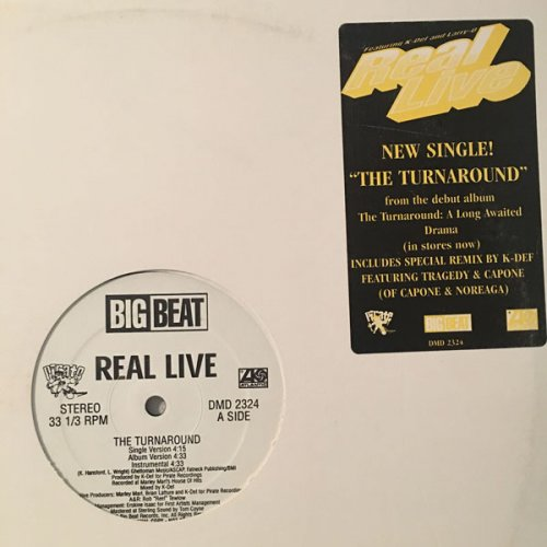 "Real Live - The Turnaround, 12"", Promo"