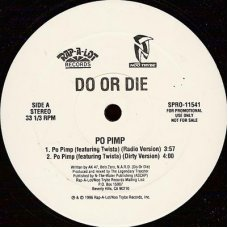 "Do Or Die - Po Pimp / Promise, 12"", Promo"