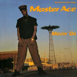 "Master Ace - Movin' On, 12"""