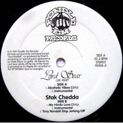 "Lord Sear / Stak Chedda - Alcoholic Vibes / My Hindu Love, 12"""