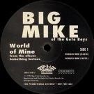 """Big Mike - World Of Mine, 12"""", Promo"""