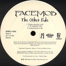 """Facemob - The Other Side / Bank Robbery, 12"""", Promo"""