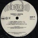 "Three 6 Mafia - 2 Way Freak, 12"", Promo"