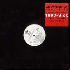 Spice 1 - 1990-Sick, LP, Promo