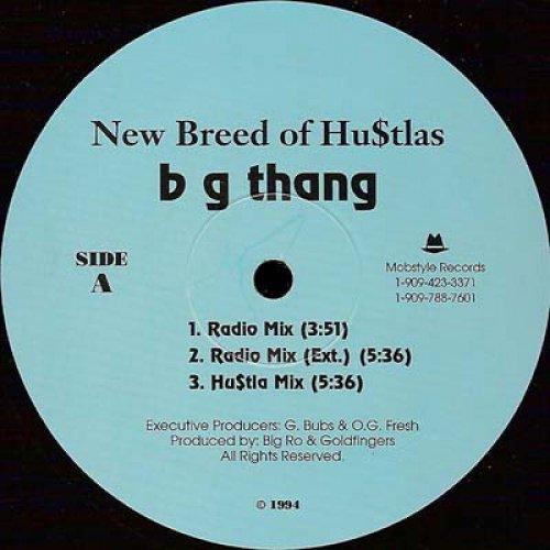"New Breed Of Hu$tlas - B G Thang, 12"""