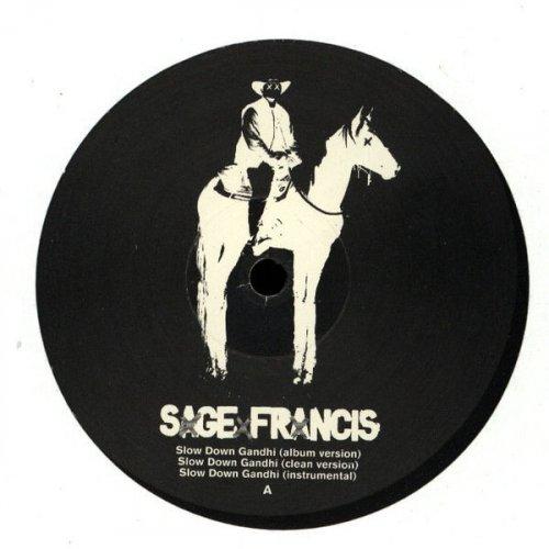 """Sage Francis - Slow Down Gandhi, 12"""", Promo"""