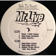 """Mr. Live - Relax Y'self, 12"""""""