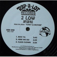 "2 Low - Hot Club Wax, 12"", Sampler"