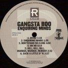 Gangsta Boo - Enquiring Minds, 2xLP, Promo