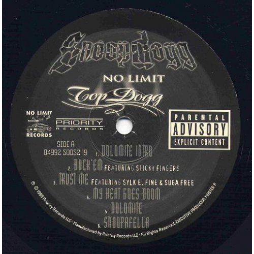 Snoop Dogg - No Limit Top Dogg, 2xLP