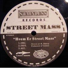 """Street Mass - Hvem Er Street Mass, 12"""""""