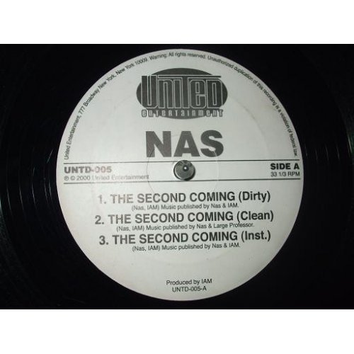 """Nas / Mobb Deep & Big Noyd & Roxanne Shante - The Second Coming / We Live This, 12"""""""