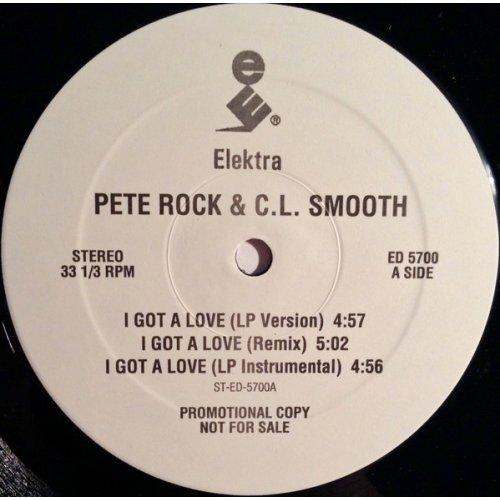 """Pete Rock & C.L. Smooth - I Got A Love, 12"""", Promo"""