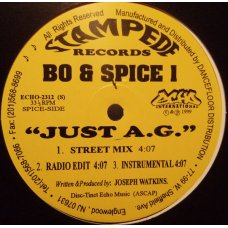 Bo & Spice 1 - Just A.G., 12""