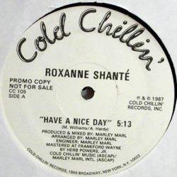 "Roxanne Shanté - Have A Nice Day, 12"", Promo"